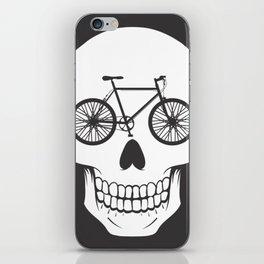Bikehead iPhone Skin