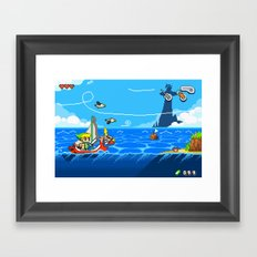 The Legend of Zelda: Wind Waker Advance Framed Art Print