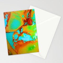 Orange to Blue Medley Stationery Cards