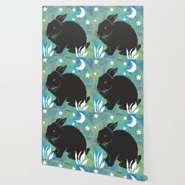 The Black Bunny Wallpaper