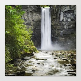 Taughannock Falls Waterfall Canvas Print