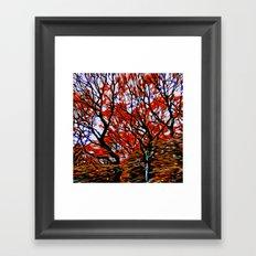 Raging Trees Framed Art Print