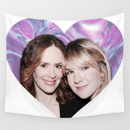 Sarah Paulson and Lily Rabe AHS Freakshow Wall Tapestry