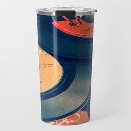 Take those old records off the shelf Travel Mug