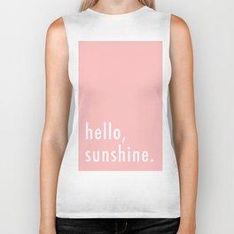 Hello Sunshine Biker Tank