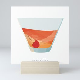 Cocktail Hour: Manhattan Mini Art Print