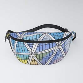 Architecture triangles Fanny Pack