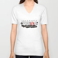 bible verse V-neck T-shirts featuring Bible Scripture by Azeez Olayinka Gloriousclick