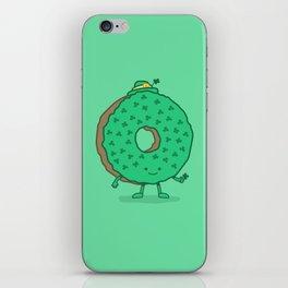 The St Patricks Day Donut iPhone Skin