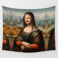 swanson Wall Tapestries featuring Mona Swanson by RAOqwerty