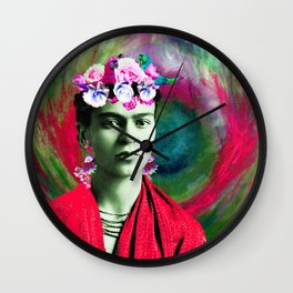 Frida Love's Freeda Wall Clock