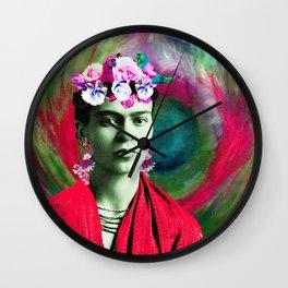 Frida Love's Freeda Wall Clock