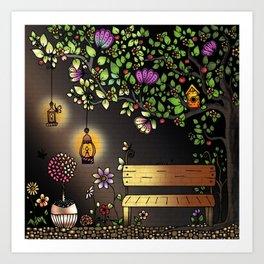 Your Night Niche Art Print
