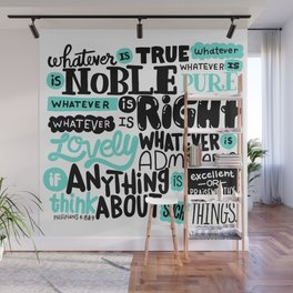 true noble right lovely admirable Wall Mural
