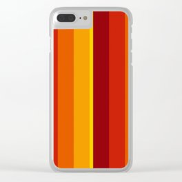 Stripes 193 Clear iPhone Case