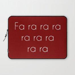 A Christmas Story Fa ra ra Deck the Halls Christmas Carol Laptop Sleeve
