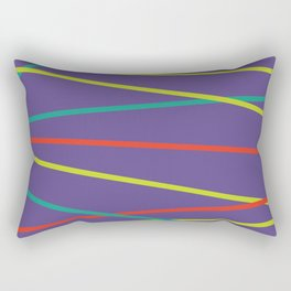 Violet Party Rectangular Pillow