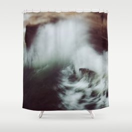 Guadalupe Wave Shower Curtain
