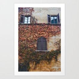 portals .:. room with a view Art Print