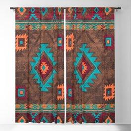 Bohemian Traditional Southwest Style Design Blackout Curtain