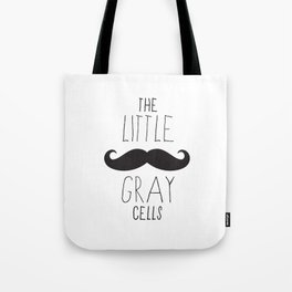 Poirot - The Little Gray Cells Tote Bag