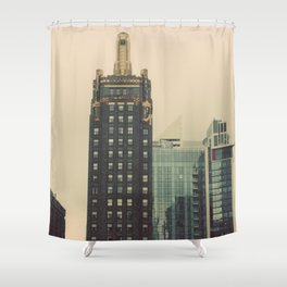 Carbide and Carbon Building Chicago Shower Curtain