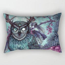 Night Owl Rectangular Pillow