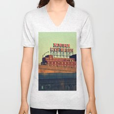 montreal five rose  Unisex V-Neck