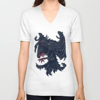 germany V-neck T-shirts featuring Germany by Ivan Belikov