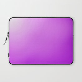 white to purple ombre Laptop Sleeve