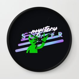 Mystery Solver - Perhaps It's You Podcast Fan Art Wall Clock
