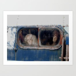 Motionless Journey in Color Art Print