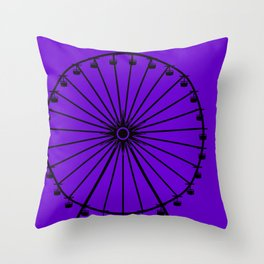 My Other Ride is the Ferris Wheel Throw Pillow
