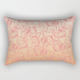Coral Shells Rectangular Pillow