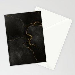 Elegant Black Onix Stationery Cards