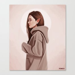 Elf Woman Canvas Print