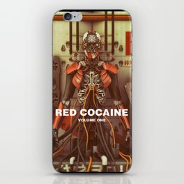 RED COCAINE iPhone Skin