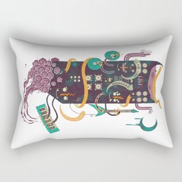 Power Trio Rectangular Pillow