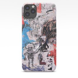 Basquiat Style iPhone Case