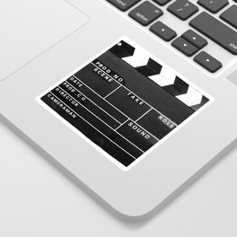 Film Movie Video production Clapper board Sticker