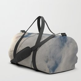 clouds and wire, abstract, no.02 Duffle Bag