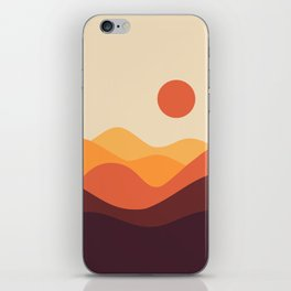 Geometric Landscape 21 iPhone Skin