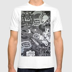 Cornbread And Butternut Mens Fitted Tee White MEDIUM