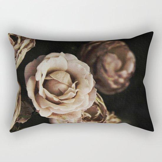 Autumn Roses Rectangular Pillow