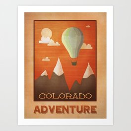 Colorado Adventure Art Print