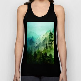 Mountain Morning Unisex Tank Top