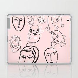 Faces Laptop & iPad Skin