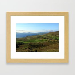Along The Kerry Way, Ireland Framed Art Print