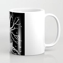Yggdrasil, the Tree  of Nine Worlds, and  Mjolnir, the Hammer of Thor Coffee Mug