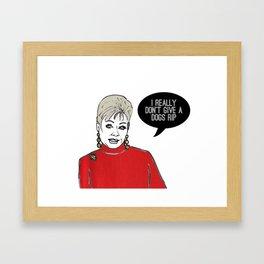 Momma Dee Framed Art Print